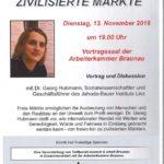 Vortrag Zivilisierte Märkte – 13.11. Braunau