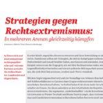 Strategien gegen Rechtsextremismus: In mehreren Arenen gleichzeitig kämpfen